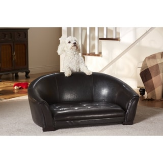 Enchanted Home Pet Artemis Faux Leather Pet Sofa