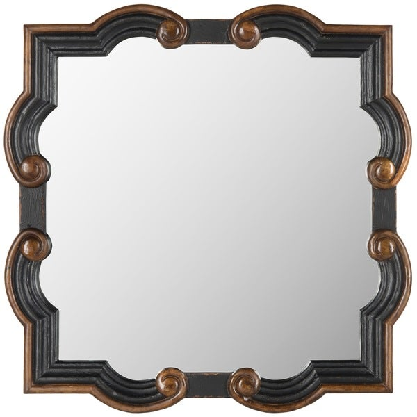 Safavieh Gladys Dark Brown Mirror