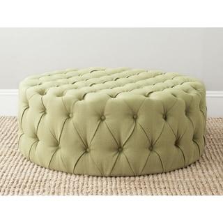 Safavieh Charlene Green Ottoman