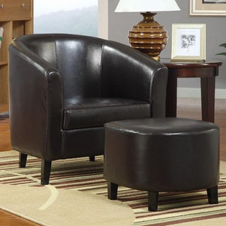 Berkley Accent Chair and Ottoman Set