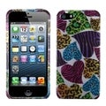 BasAcc Jungle Hearts Phone Protector Case for Apple iPhone 5