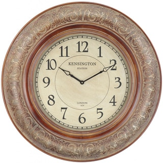 Aged Copper Daniel Wall Clock