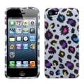 BasAcc Jagged Colorful Leopard Phone Case for Apple iPhone 5