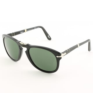 Persol Men's PO0714 Black Polarized Sunglasses