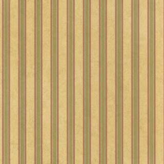 Brewster Olive Stripes Wallpaper