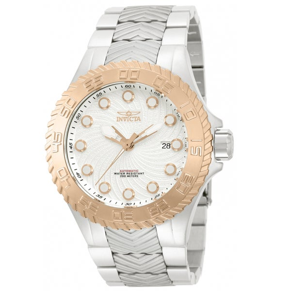 Invicta Men's IN-12930 Stainless Steel 'Pro Diver' Link Watch
