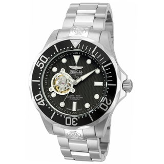 Invicta Men's Stainless Steel 'Pro Diver' Link Watch
