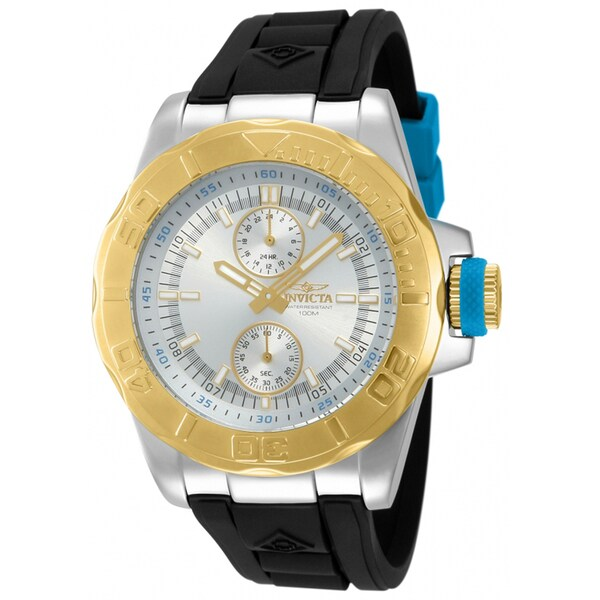 Invicta Men's IN-13994 Multicolored Stainless Steel 'Pro Diver' Quartz Watch