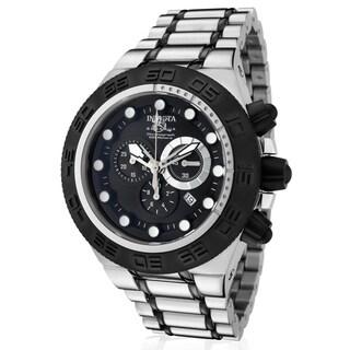 Invicta Men's Stainless Steel 'Subaqua' Quartz Watch