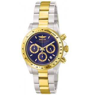Invicta Men's IN-3644 Stainless Steel 'Speedway' Quartz Watch