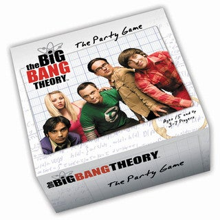 Cryptozoic Entertainment The Big Bang Theory Party Game