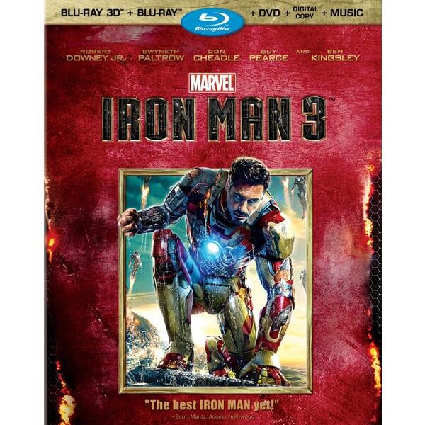 Iron Man 3 3D (Blu-ray/DVD)