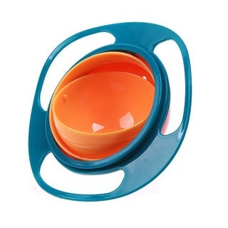 Gyro Children's Mess-free Food Bowl with Grip and Lid