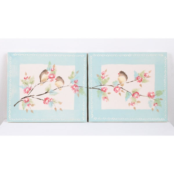 Cotton Tale Tea Party Wall Art (Set of 2)