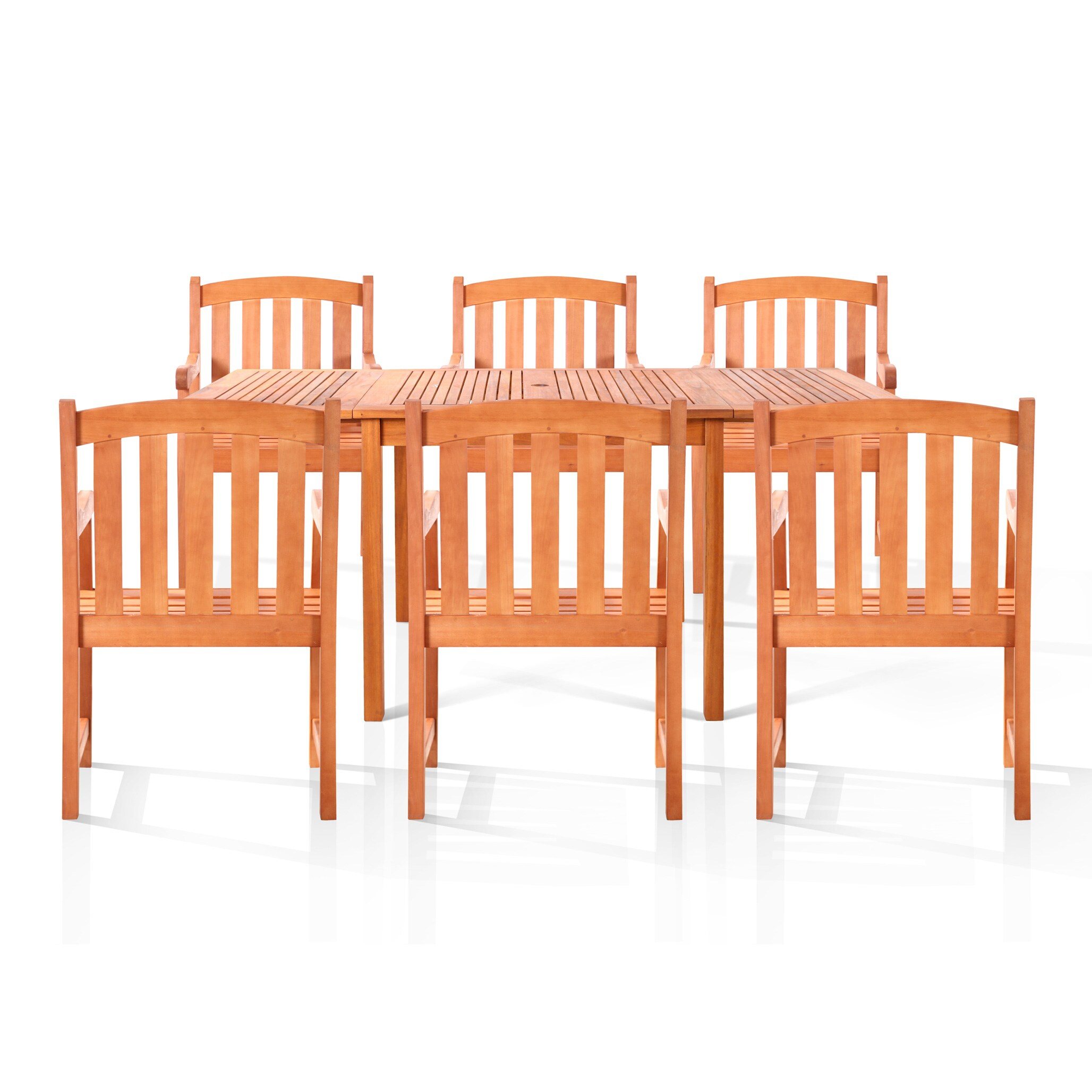 Vifah Sydney 7-piece Oil Rubbed Outdoor Dining Set at Sears.com