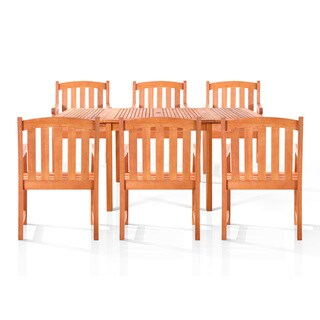 Sydney 7-piece Oil Rubbed Outdoor Dining Set