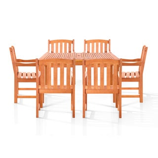 Chadwick 7-piece Oil Rubbed Outdoor Dining Set
