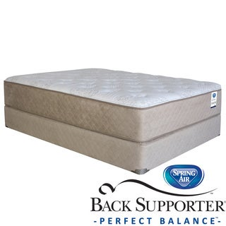 Spring Air Back Supporter Roseworth Plush Queen-size Mattress Set