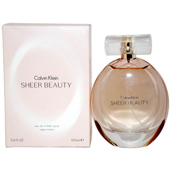 Calvin Klein Sheer Beauty Women's 3.4-ounce Eau de Toilette Spray