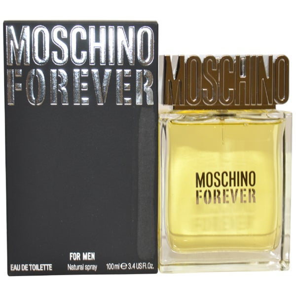 Moschino Forever Men's 3.4-ounce Eau de Toilette Spray