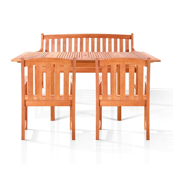 Pembroke Bench-Seater Outdoor Dining Set