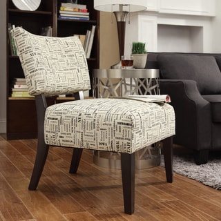 INSPIRE Q Draper Geographic Accent Chair