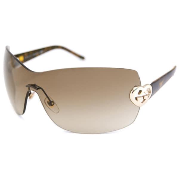 Gucci Women's GG4200 Shield Sunglasses