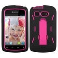 BasAcc Hot Pink/ Black Symbiosis Stand Case for Kyocera C5170 Hydro