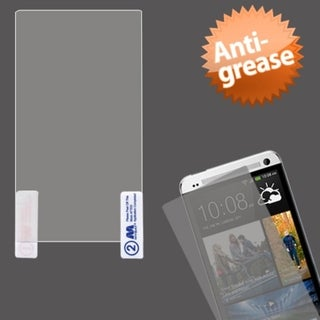 BasAcc Clear Anti-grease Screen Protector for HTC One M7