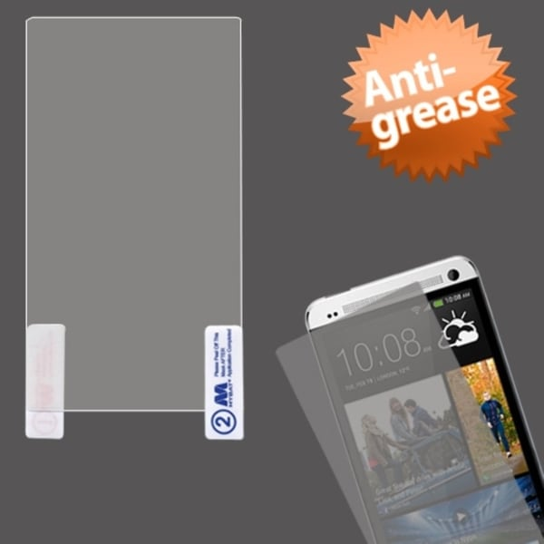 INSTEN Clear Anti-grease Screen Protector for HTC One M7