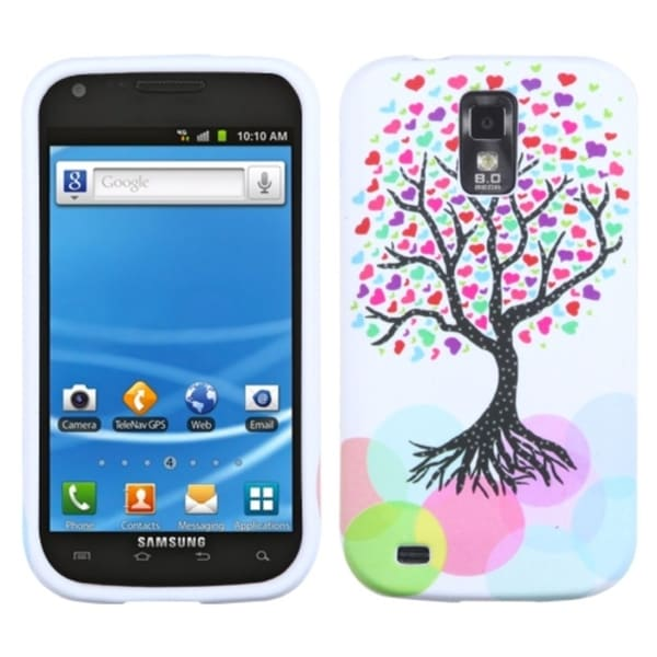 INSTEN Love Tree Candy Skin Phone Case Cover for Samsung Galaxy S2/ S II T989