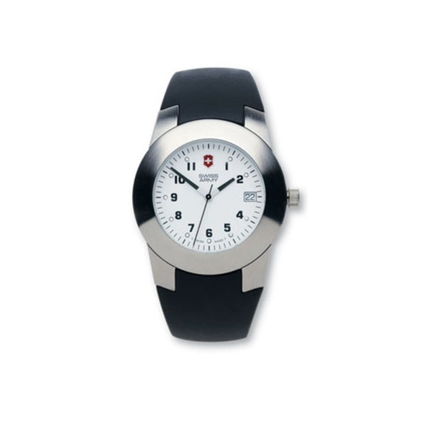 Swiss Army Women's Peak White Dial Leather Watch