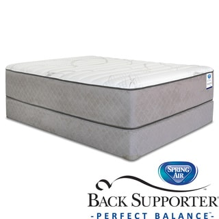 Spring Air Back Supporter Woodbury Firm King-size Mattress Set