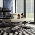 INSPIRE Q Bosworth Velvet Beige Wood X Base Bench