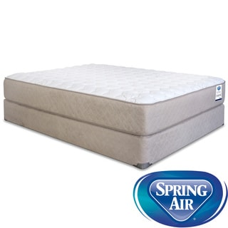Spring Air Back Supporter Bancroft Firm Full-size Mattress Set