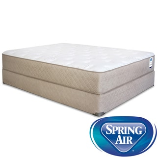 Spring Air Back Supporter Bancroft Plush Twin-size Mattress Set