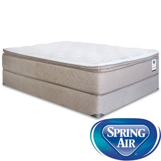 Spring Air Back Supporter Bancroft Pillow Top Twin XL-size Mattress Set