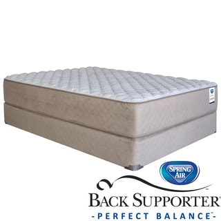 Spring Air Back Supporter Roseworth Firm California King-size Mattress Set