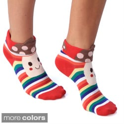 Women's 'Happy with a Hat Trick' 3D Anklet Socks