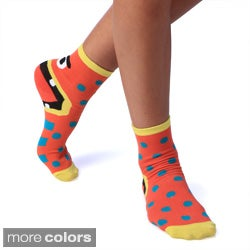 Women's Monster Bash 3D Anklet Socks (One Size)