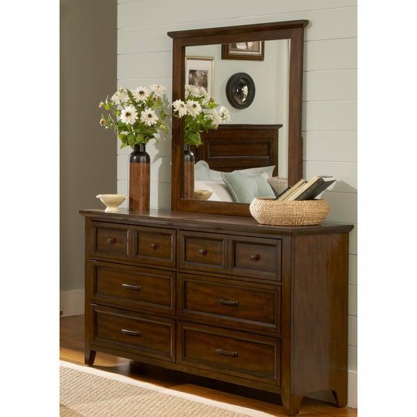Liberty Laurel Creek Dresser and Landscape Mirror Set