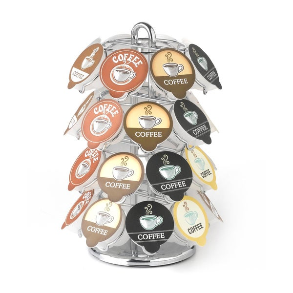 Nifty 32 Vue Cup Chrome Carousel for Keurig Coffee Cups