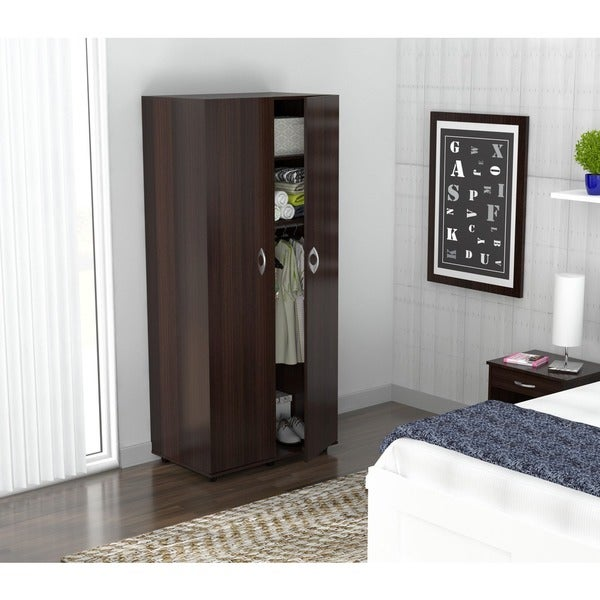 Inval 2-Door Contemporary Armoire