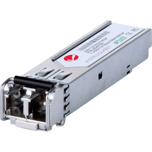 Intellinet Gigabit SFP Single-Mode Mini-GBIC Transceiver, 20km