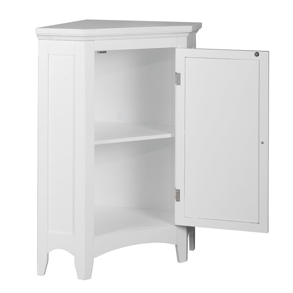 bayfield white shutter door corner floor bathroom cabinet 525981b3
