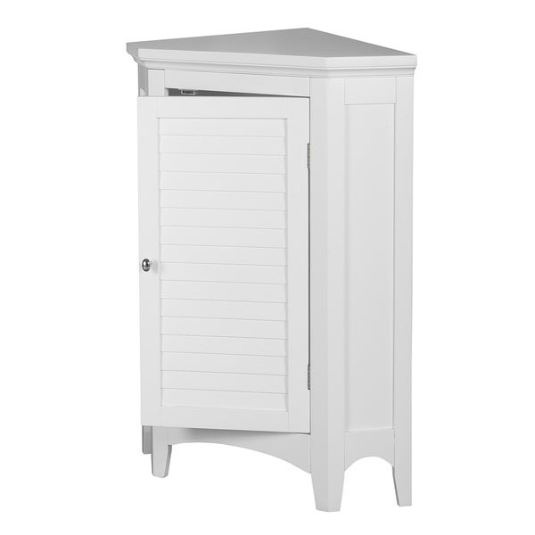 bayfield white shutter door corner floor bathroom cabinet eb846f30