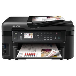 Epson WorkForce WF-3520 Inkjet Multifunction Printer - Color - Photo