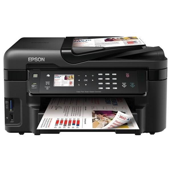 Epson WorkForce WF-3520 Inkjet Multifunction Printer - Color - Photo