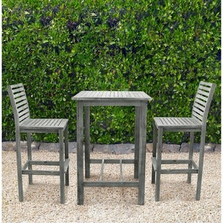 Malibu Eco-frienly Renaissance Outdoor Wood Bar Set