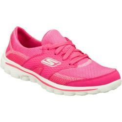 Women's Skechers GOwalk 2 Stance Hot Pink
